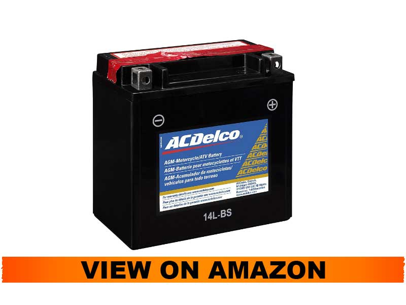 ACDelco ATX14LBS Specialty AGM Powersports Battery