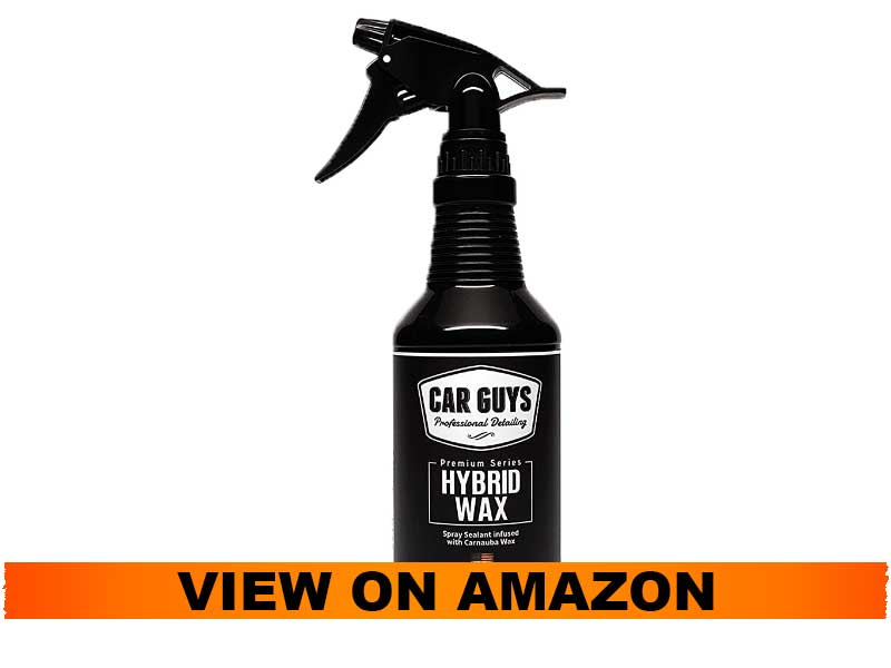 CarGuys Hybrid Wax Sealant with Liquid Carnauba