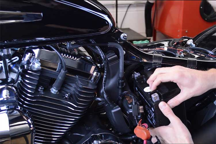 Changing Motorcycle Battery