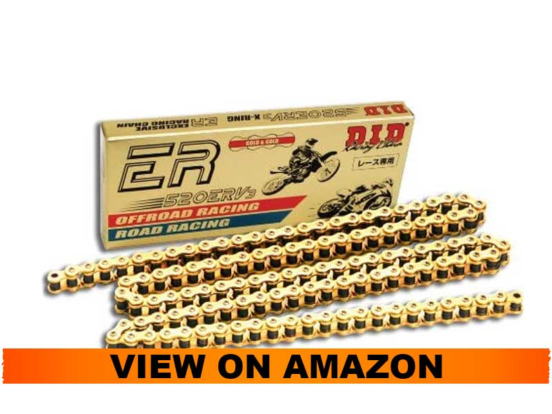 DID 520ERV3 120 Gold Motorcycle Chain