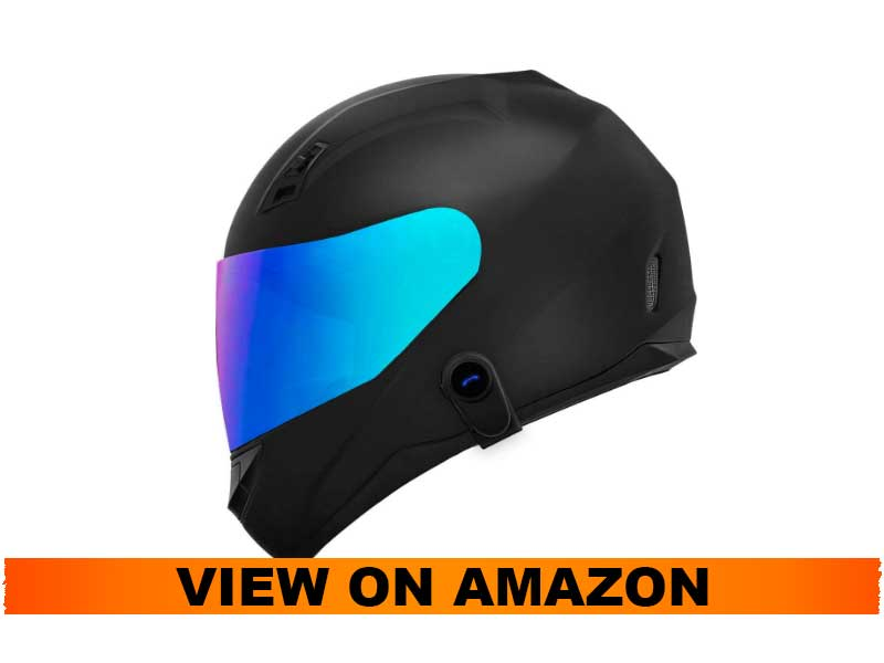 GDM Ghost Mark II Motorcycle Bluetooth Helmet