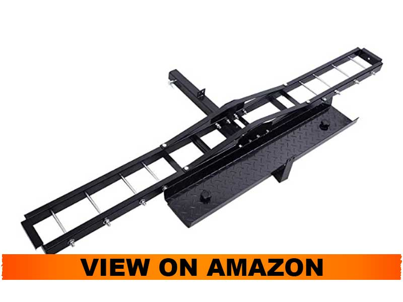 Goplus 500 lb Motorcycle and Dirt Bike Hitch Carrier