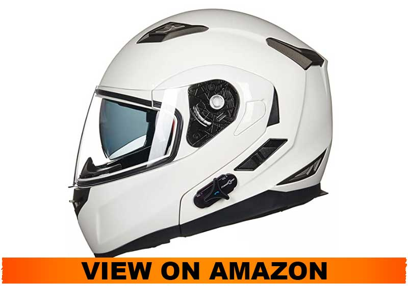 ILM Bluetooth Integrated Full Face Helmet