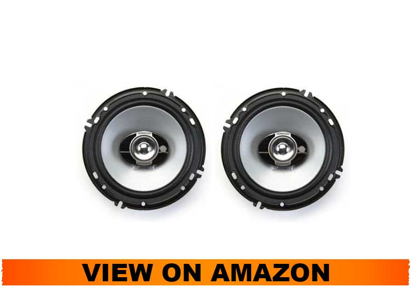Kenwood Speaker Package with Adapter Rings for Harley Touring