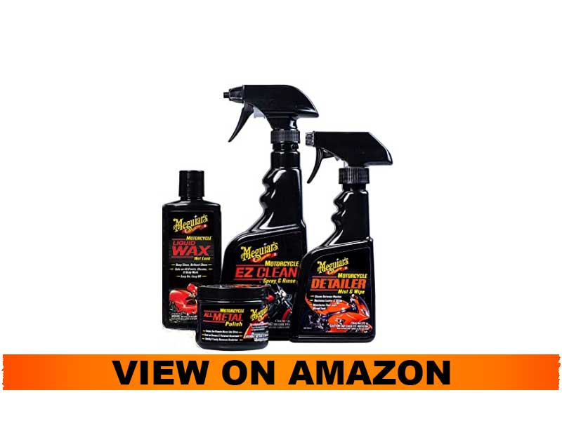 Meguiar's Care Package for Motorcycle Cleaning