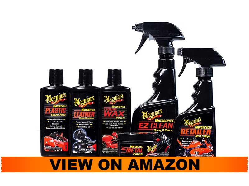 Meguiar's Package for Motorcycle Cleaning and Detailing