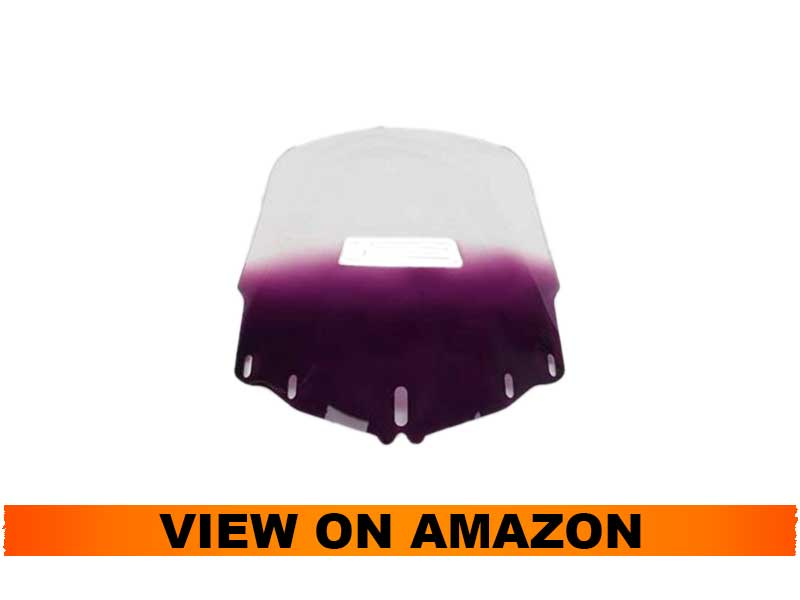 Memphis Shades MEP4874 Windshield for GL1800 Standard Gold Wing With Vent Hole