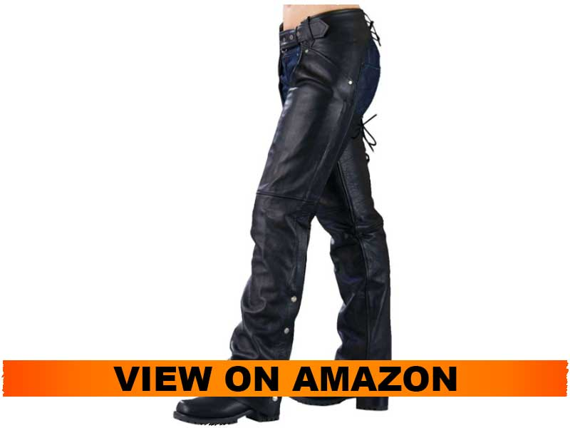 Milwaukee Leather Ladies Chaps with Laces