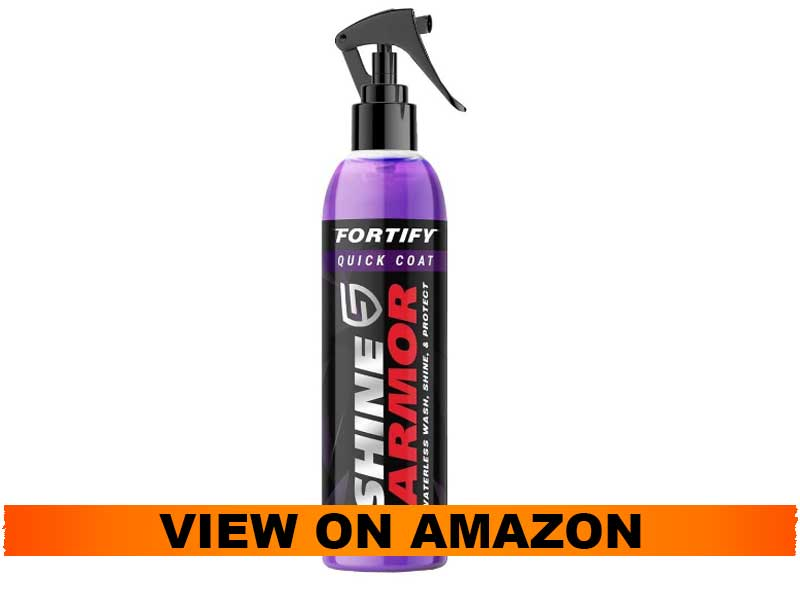 SHINE ARMOR Fortify Quick Coat Ceramic Coating Motorcycle Wax Polish Spray