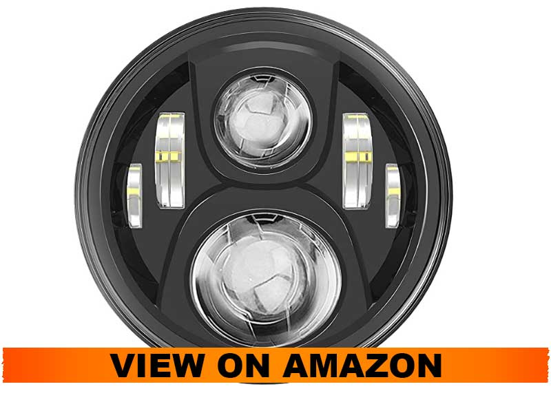 SUNPIE 7 inch LED Projector For Harley
