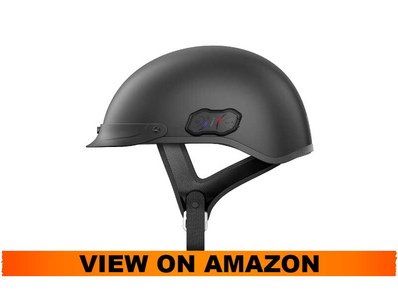 Sena CAVALRY CL-MB-S Matt Black Bluetooth Helmet