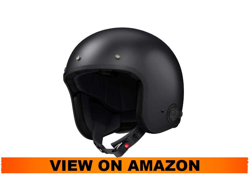 Sena Savage Open Face Helmet with Bluetooth