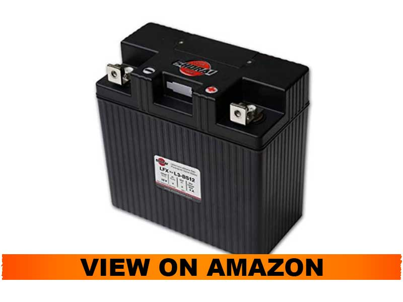 Shorai Extreme Rate Lithium Iron Powersports Battery