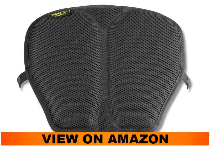 Skwoosh Motorcycle Gel Seat Pad for long distance traveling