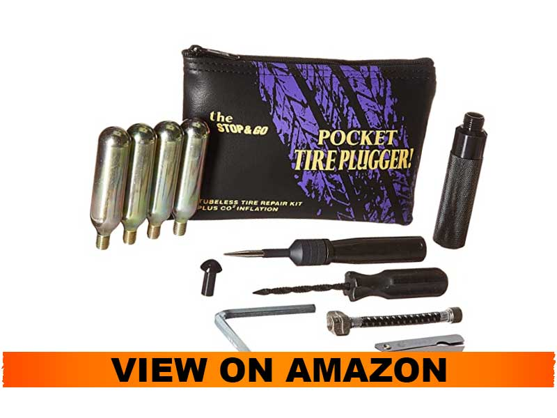 Stop&Go 1001 Pocket Tire Repair Kit with CO2