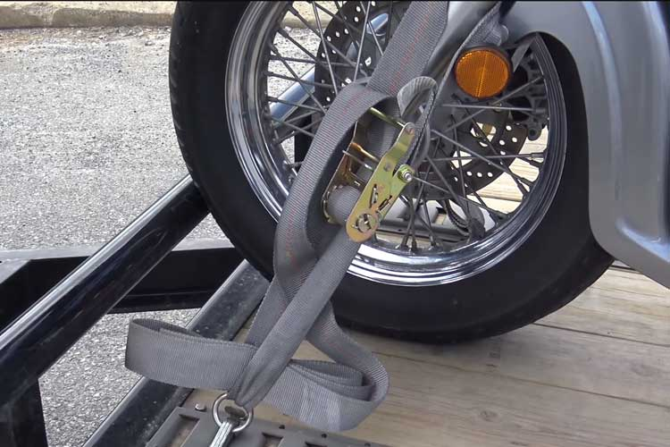 Tie Down a Motorcycle