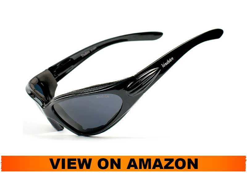 Verdster Airdam 2020 Polarized Sunglasses for Motorcycle Riding Men and Women
