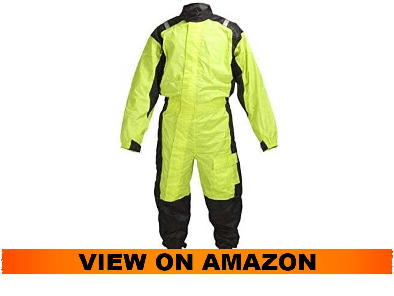 WICKED STOCK MOTORCYCLE ONE PEICE RAIN SUIT