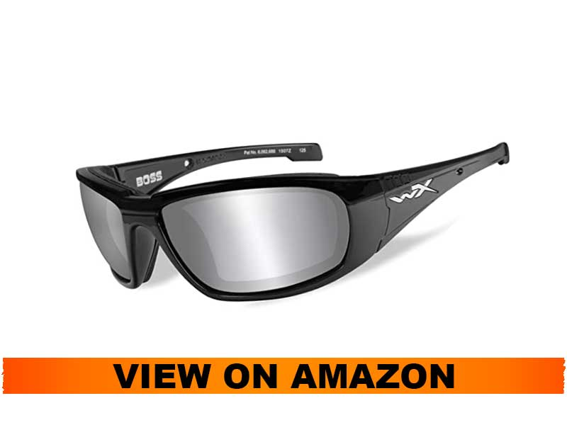 Wiley X Boss Motorcycle Sunglasses
