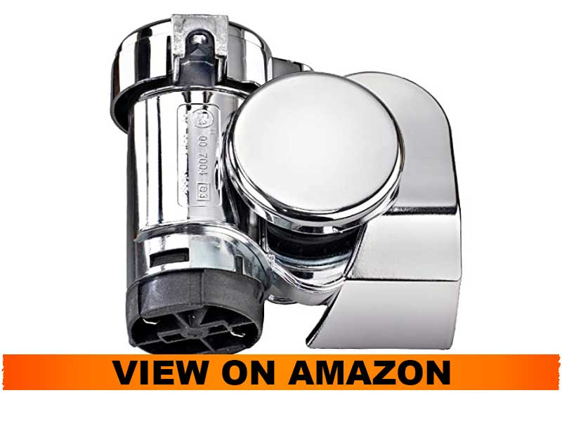 Wolo Bad Boy Chrome Motorcycle Air Horn