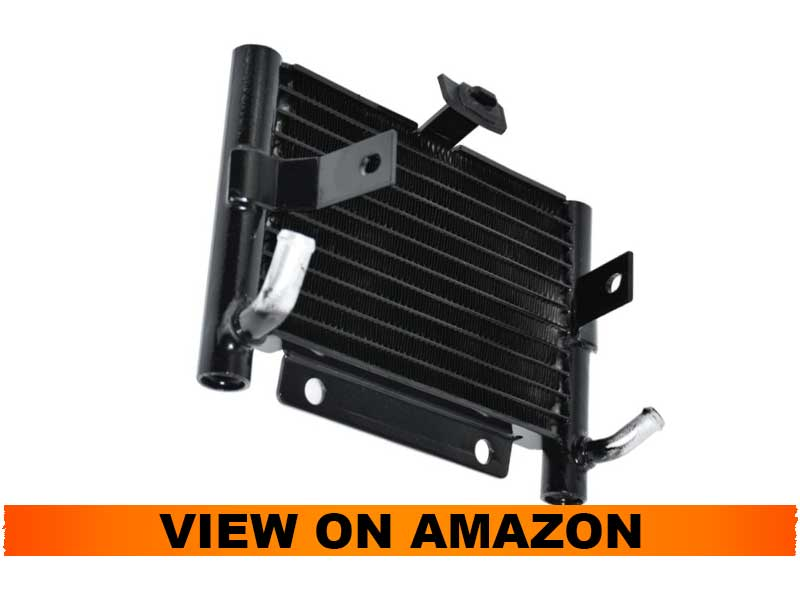 YHMTIVTU Motorcycle Oil Radiator for Harley Touring