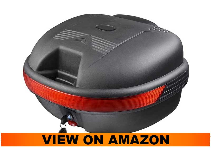Yescom 30L Motorcycle Tail Top Box