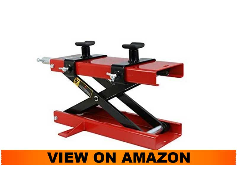 ZENY 1100-LB Motorcycle Center Scissor Lift