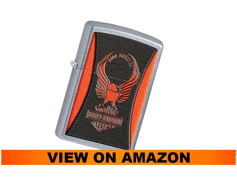 Zippo Harley Davidson Eagle Wings Pocket Lighter