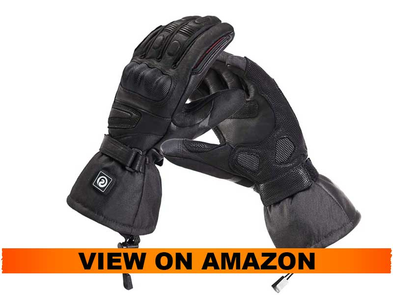 day wolf Heated Gloves for Men