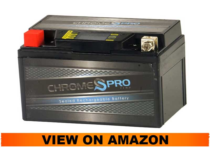 iGel Chrome Pro YTX7A BS Motorcycle Battery