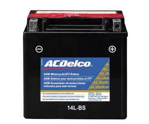 ACDelco AGM Powersports Battery